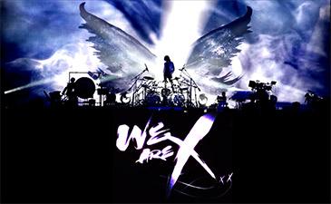 ドキュメント映画WE ARE XのプロモーションのX JAPANの画像