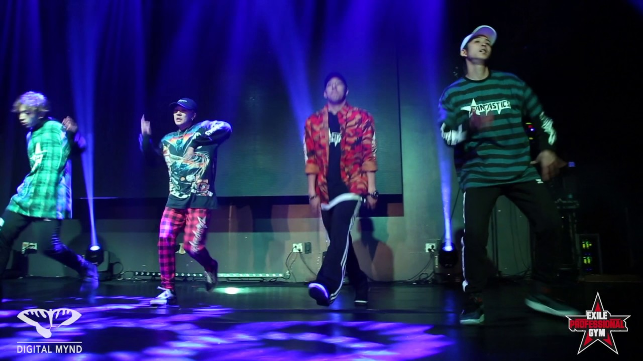 FANTASTICS Live Performance at HOUSE OF EXILE May.27th.2017 - YouTube