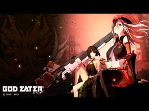 GOD EATER OP [Over the clouds] フル 詳細に歌詞付き - YouTube